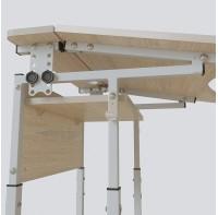 Стол (парта)  Аудит с площадкой регулируемый по высоте и углу наклона столешницы 20×20 в 25×25 одноместный