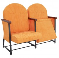 Кресла для концертных, актовых залов Сопрано Универсал