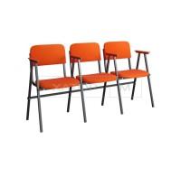 Кресла для актового зала Алиса с подлокотниками