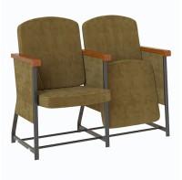 Кресло театральное, для актовых, коференц залов Фаворит универсал