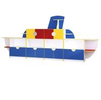 """Детская стенка для игрушек """"Кораблик"""""""
