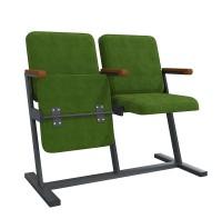 Кресла Аскет F-Стойка для зон ожидания и актовых залов