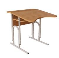 Стол (парта)  аудиторный П-образный с площадкой регулируемой по высоте одноместный для Вузов