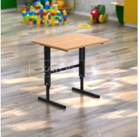 Стол детский регулируемый по высоте одноместный для детского сада