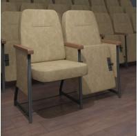 Кресло Бенефис для концертного, театрального, конференц зала (универсал)