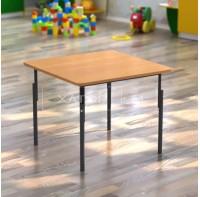 Стол детский квадратный регулируемый