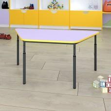 Детский стол трапеция регулируемый по высоте Ø22 в Ø27