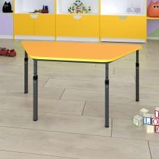 Детский стол трапеция регулируемый по высоте 20×20 в 25×25