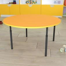 Детский стол круглый регулируемый по высоте Ø22 в Ø27