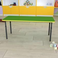 Детский стол прямоугольный регулируемый по высоте Ø22 в Ø27