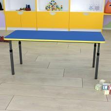 Детский стол прямоугольный регулируемый по высоте 20×20 в 25×25