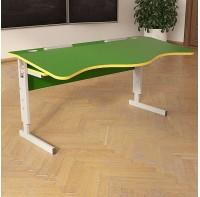 Стол (парта)  Аудит НУШ с площадкой регулируемой по высоте двухместный