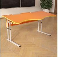 Стол (парта)  НУШ с площадкой регулируемый по высоте двухместный