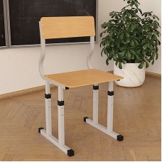 Школьный стул Кадет регулируемый по высоте 20×20 в 25×25 прямая фанера
