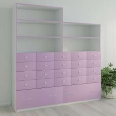 Шкаф для дидактических (учебных материалов) на 20 ящиков
