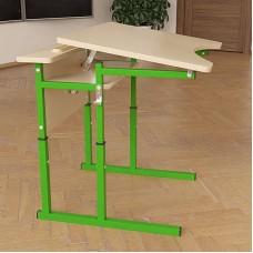 Стол (парта) школьный Аудит НУШ с площадкой регулируемый по высоте и углу наклона столешницы 20×20 в 25×25 одноместный
