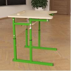 Стол (парта) школьный Аудит НУШ регулируемый по высоте и углу наклона столешницы 20×20 в 25×25 одноместный