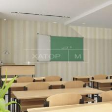 Доска трехповерхностная магнитная комбинированная для школы