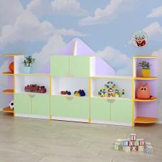 """Детская стенка для  игрушек """"Домик"""""""