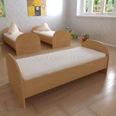Кровать для детских садов (детская) Полукруглая
