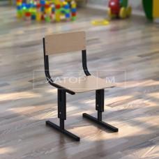 Стул для детского сада Кадет-М регулируемый по высоте